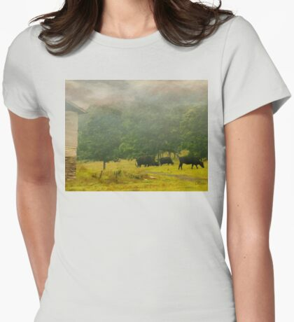 Early Risers Womens Fitted T-Shirt