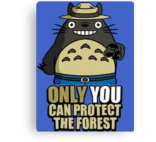 Protect The Forest Canvas Print