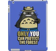 Protect The Forest iPad Case/Skin