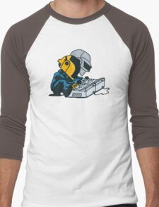 Daft Nuts Men's Baseball ¾ T-Shirt