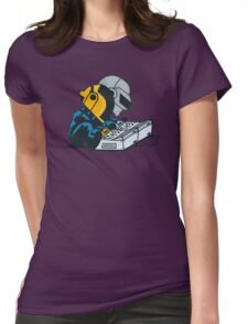 Daft Nuts Womens Fitted T-Shirt