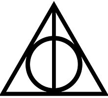 Deathly Hallows symbol by rachelshade