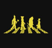 Yellow Brick Abbey Road by Baznet
