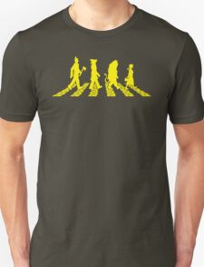 Yellow Brick Abbey Road Unisex T-Shirt