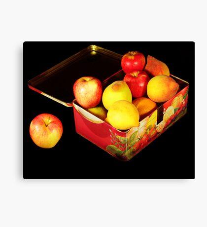 Fruit Case Canvas Print