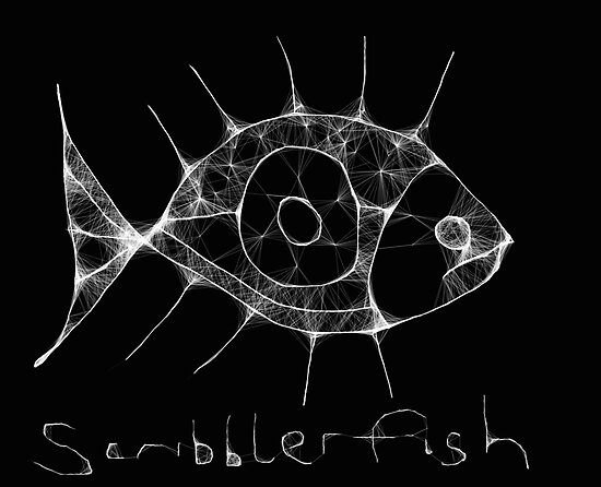 scribbler fish by Stephen Mclaren