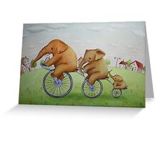 Out and About Greeting Card