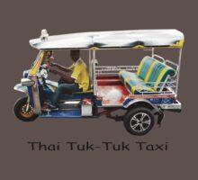 Thai Tuk-Tuk Taxi Kids Clothes