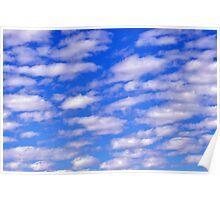 Sky Blue Sky 352 Poster