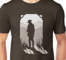 Old Western Silhouette Unisex T-Shirt