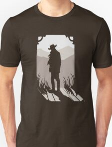 Old Western Silhouette T-Shirt