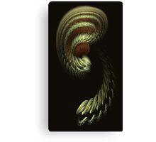 APO EAR RAW FRACTAL- YEAH Canvas Print