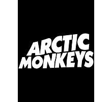 Arctic Monkeys Logo - White Photographic Print