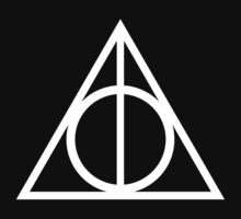 Deathly Hallows white T-Shirt