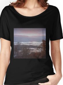 First Fall Of Snow Women's Relaxed Fit T-Shirt