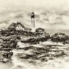 Portland Head Light by JHRphotoART