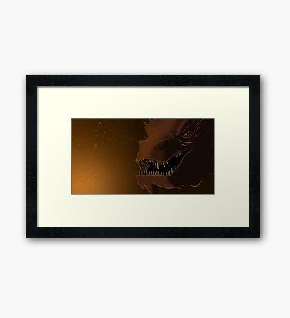 My Teeth Are Swords Framed Print
