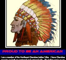 I Am Cherokee, I Am Walkingstick by Charldia