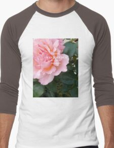 hozier - rose theme Men's Baseball ¾ T-Shirt