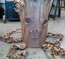 Cardboard Tree Monster! by ellemoses28
