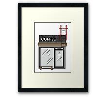 The Coffee Shop Framed Print