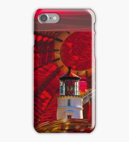 Umpqua River Lighthouse  - Fresnel Lens iPhone Case/Skin
