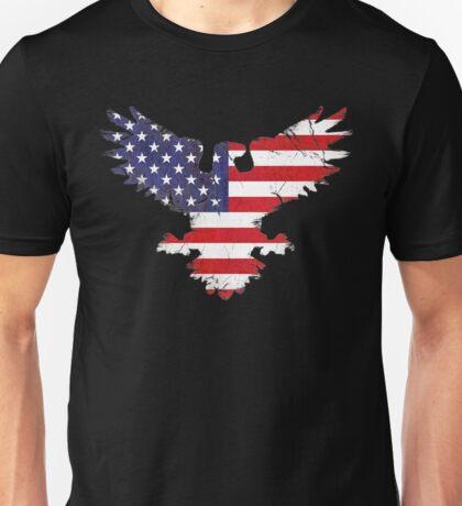 American Eagle - Flag Unisex T-Shirt