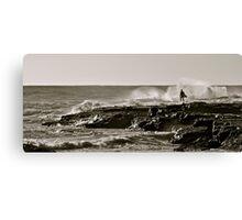 Surfer Silhoutte Canvas Print