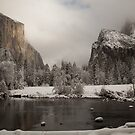Valley View after a winter storm by Madhav Mehra