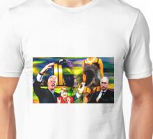 Randomly selected people and objects Unisex T-Shirt