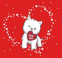 Westie Love by funfang