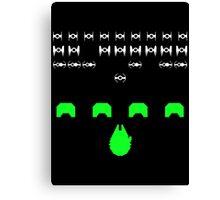 Star Invaders Canvas Print