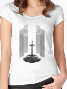 Master Sword Women's Fitted Scoop T-Shirt