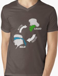 Metal States (light) Mens V-Neck T-Shirt