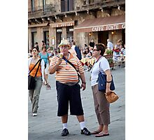 peoplescapes #221, yum! Photographic Print