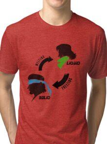 Metal States (dark) Tri-blend T-Shirt