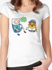 time 2 bake Women's Fitted Scoop T-Shirt