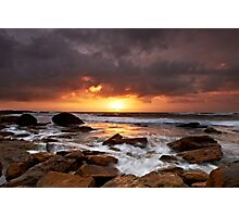 Lucky Break  - Little Bay NSW Photographic Print