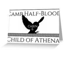 Child of Athena Greeting Card