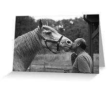 Phantom Kiss Greeting Card