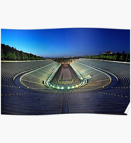 The Panathenaic Stadium Poster
