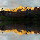 Golden mountains by Dulcina