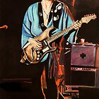 Stevie Ray Vaughan by chris benice