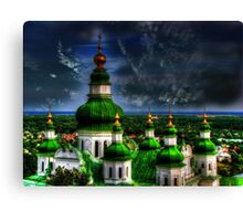 Domes of Trinity Cathedral Canvas Print