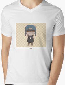 Emo Kawaii Girl Mens V-Neck T-Shirt