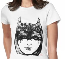 Batgirl Womens Fitted T-Shirt