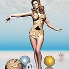 Mandelbabe by Sandra Bauser Digital Art