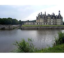 Chambord in the Rain Photographic Print