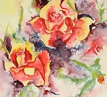 Roses Two by Joyce Ann Burton-Sousa