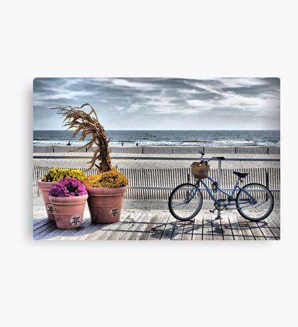 Boardwalk HDR Canvas Print